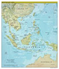 Us Relief Map Large Scale Political Map Of Southeast Asia With Relief U2013 2012