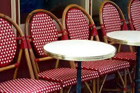 Vintage Bistro Chairs Vintage Yankee Parisian Bistro Chairs