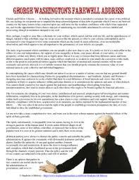 george washington s farewell address analysis worksheet by