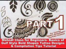 part 1 mehndi class for beginners basics of gulf style bold henna