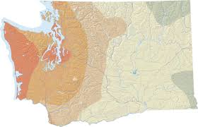 Fault Line Map Earthquakes And Faults Wa Dnr