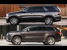 jeep grand or dodge durango dodge durango 2016 vs jeep grand 2016 design exterior