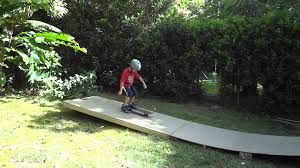 backyard skate ramp youtube