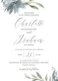 wedding invitation wedding invitations with free customization elli