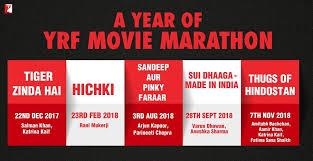 yash raj films upcoming films in 2017 2018