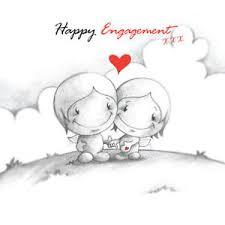 happy engagement card happy engagement card cupids hearts