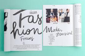magazine layout graphic design studio martin sebald missy magazine layout lettering graphic