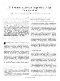 hts motors in aircraft propulsion design considerations pdf
