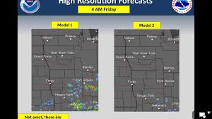 Severe Weather Map Severe Weather Chances For Eastern Nd And Northwest Mn Today Into