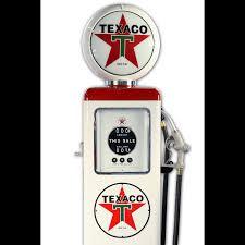 pompe essence vintage pompe à essence made in usa texaco blanche sas brust us planet