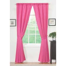 Home Decor Design Draperies Curtains Essential Home Sydney Panel Pair Pink Decor Window Treatments