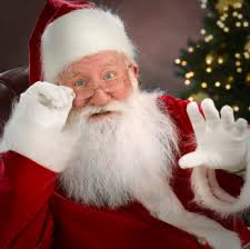 Santa Claus embodies a spirit