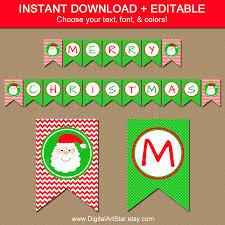 printable christmas banners u2013 happy holidays