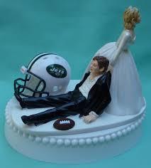wedding cake ny new york jets ny football themed wedding cake topper bridal