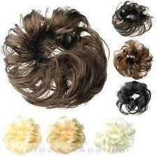 bun scrunchie hair scrunchies synthetic hair scrunchie brown black