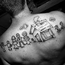 49 best chest tattoos family images on pinterest chest tattoo