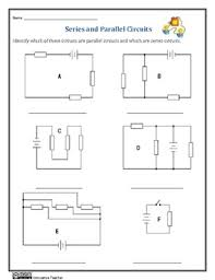 series and parallel circuits worksheets circuitsreview
