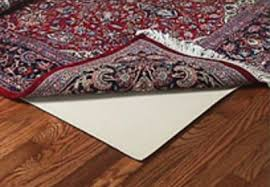rubber anchor ii rubber rug pad for wood floors
