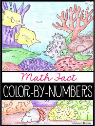 math fact color by numbers addition and subtraction the