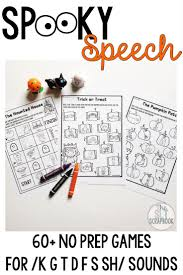 198 best halloween speech therapy activities images on pinterest