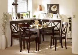 dining room appealing white corner small dining room sets ideas