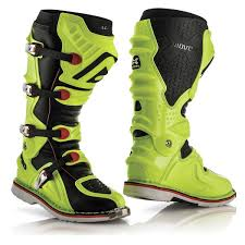 green dirt bike boots acerbis x move 2 0 motocross boots offroad yellow black acerbis