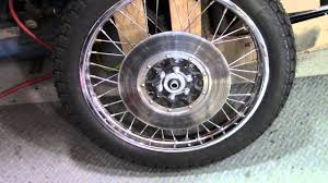 73 honda cb750 custom build part 37 front brakes youtube
