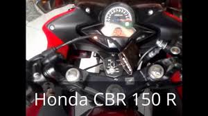 all honda cbr all new honda cbr 150 r youtube