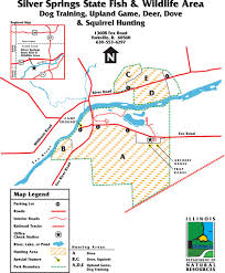 Florida State Parks Camping Map by Silver Springs State Park Maplets