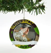 united states army camo photo frame u2013 personalized ornaments