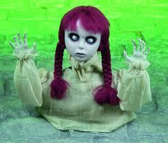 halloween horror props head turning halloween horror prop