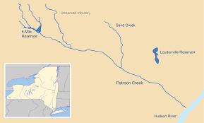 Hudson River Map Patroon Creek Wikipedia
