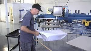m u0026r screen printing equipment setup u2014floor layout youtube