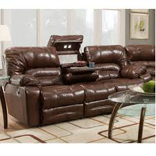 Real Leather Recliner Sofas by Legacy Leather Collection