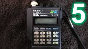 yaesu ft 470 handheld amateur radio transceiver part 5 final