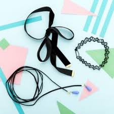 11 tattoo choker necklaces and diy how to make one tattoo choker