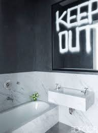 bathroom beautiful cool black and white tile bathroom decorating