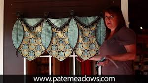 Valances For La Ruth Valance Sewing Pattern Youtube