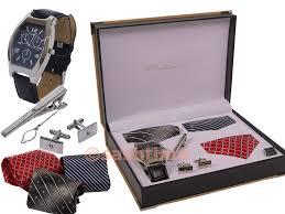 tie box gift ny london mens gents pen keychain belt tie lighter