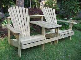 adirondack chair double seater weathercraft outdoor furniture