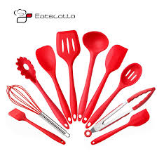 ustencile de cuisine ermakova 10 pcs set silicone kitchen utensils set non stick silicone