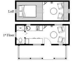 porch floor plan humble homes humblebee tiny house with porch floor plan 226 sq ft