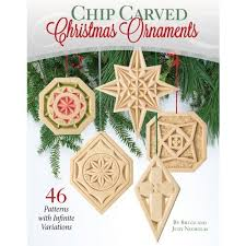 chip carved ornaments