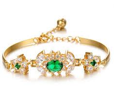 bracelet designs images New arrival zircon bangle gold filled bracelets ladies gold jpg