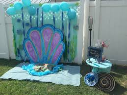 interior design view under the sea party theme decorations