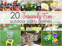 outdoor party als birthday party ideas