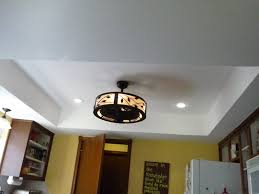 Kitchen Ceiling Fan With Lights Kitchen Lighting Fixtures Ceiling Battey Spunch Decor