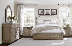 Bedroom Furniture Set Upholstered With Wood T Stanley Wethersfield Estate Upholstered Customizable Bedroom Set