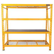 dewalt garage shelves u0026 racks garage storage the home depot