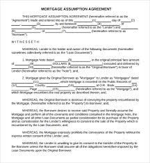 sample mortgage agreement template 10 free documents in pdf word